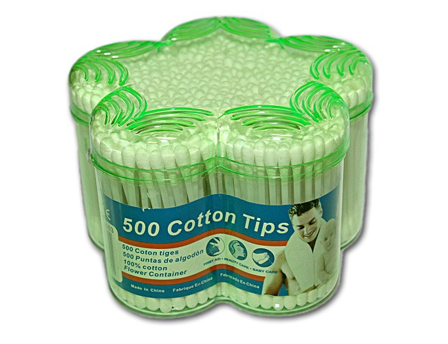COTTON TIPS 500PCS IN BOX