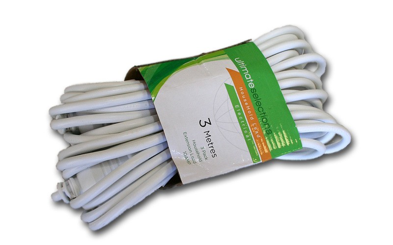 ULT.SEL 3MTR EXTENSION LEAD 3PK